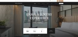 hotelbook wp theme