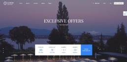 Best Hotel, Guesthouse, Rental WordPress Themes 1